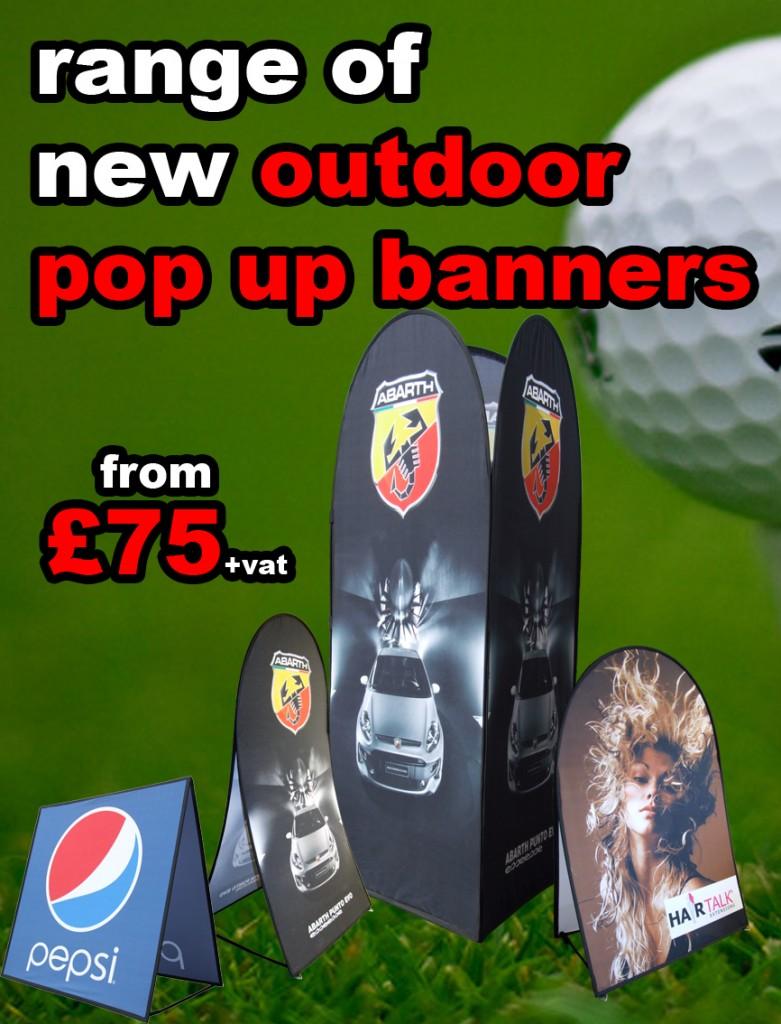 Outdoor Pop Up Banners